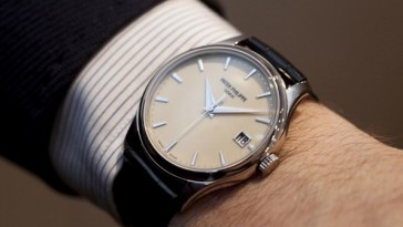 "replica Calatrava ""eternal white"" Ref. 7122 watch"