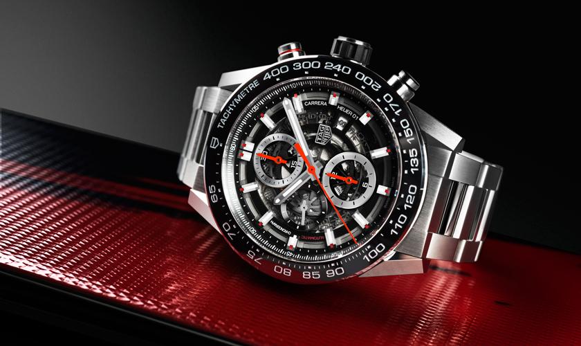 93c0090dadd Wrsits On Luxury Replica Tag Heuer Carrera Chronograph Calibre Heuer ...