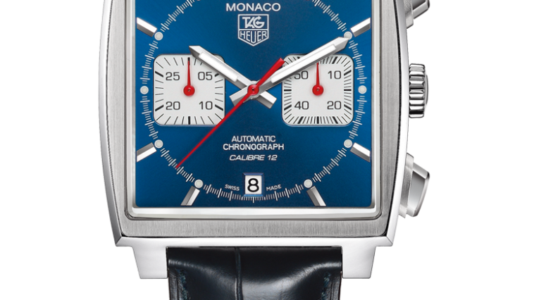 Superior Replica Tag Heuer Monaco Blue Dial Watches