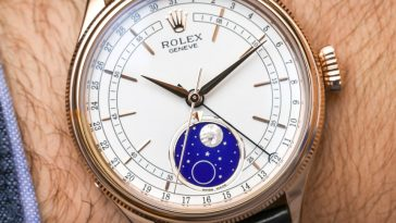 Rolex Cellini Moonphase 50535 Watch Hands-On Hands-On