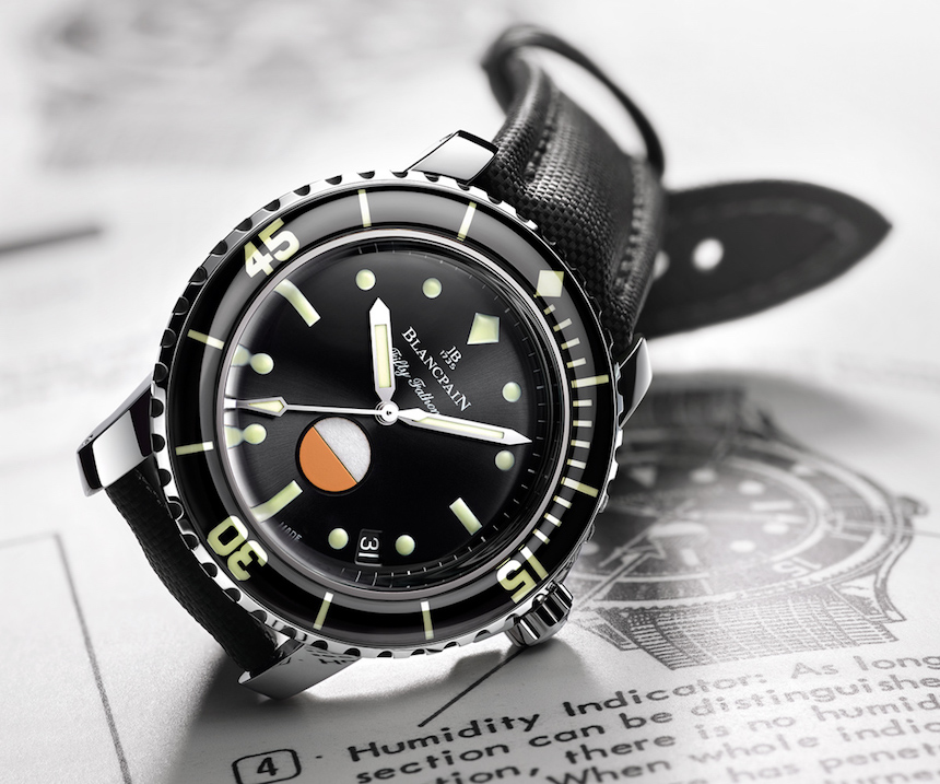 Blancpain Tribute To Fifty Fathoms Mil-Spec Watch Watch Releases