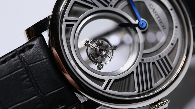 Replica Cartier Tourbillon Lové floating Tourbillon