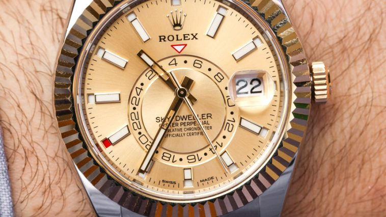 Rolex Sky-Dweller Watches In Two-Tone Steel & Gold Hands-On Hands-On