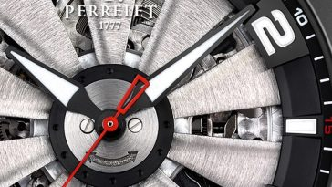 Perrelet Turbine Skeleton Watch Watch Releases