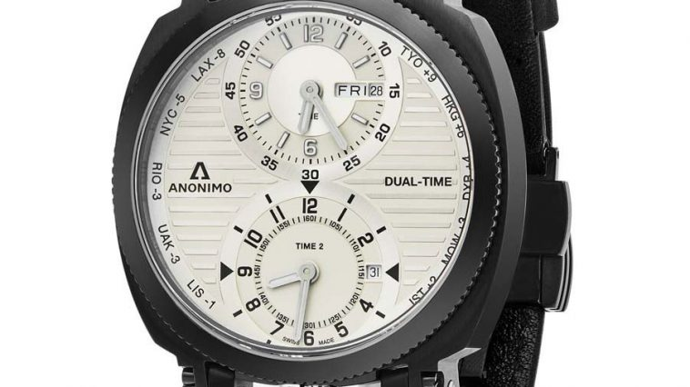 Anonimo Militare Automatic Men's World Time Watch AM120002004A01