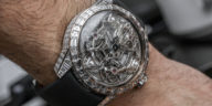 The $1,200,000 Antoine Preziuso Trillion Tourbillon Of Tourbillons 24-Carat Diamond Replica Watch